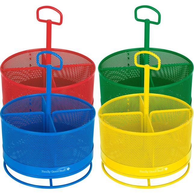 Revolving Supply Organizers - 4 Colors