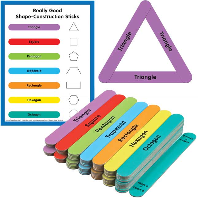 Family Engagement Math Skills - Basic Colors And Shapes