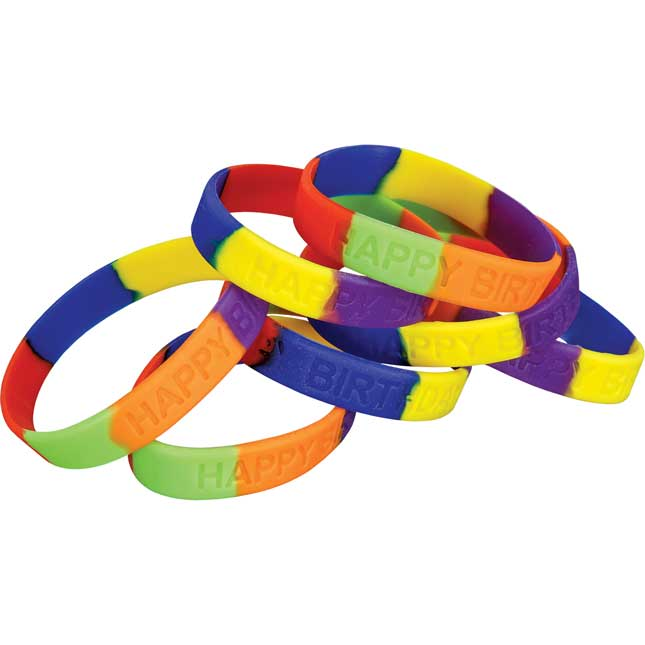 Happy Birthday! Silicone Bracelets