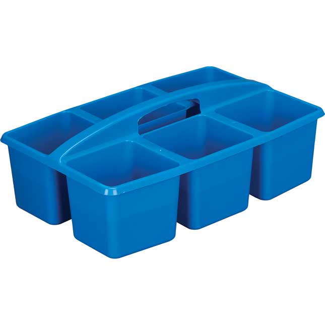 Six-Equal-Compartment Caddies - Set Of 4