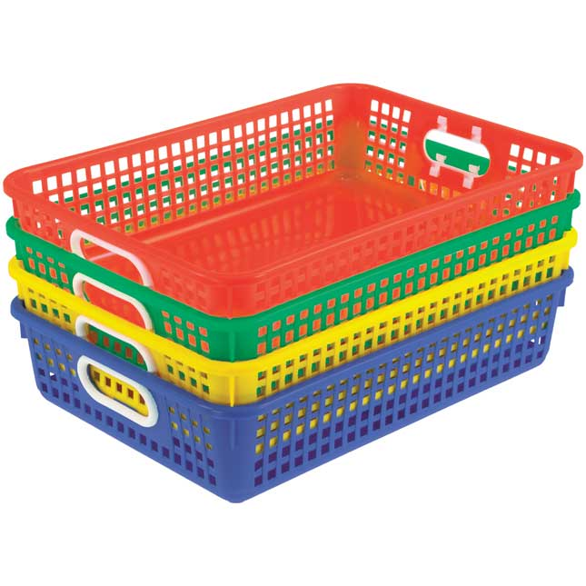 Deluxe Supplies Organizer With Baskets
