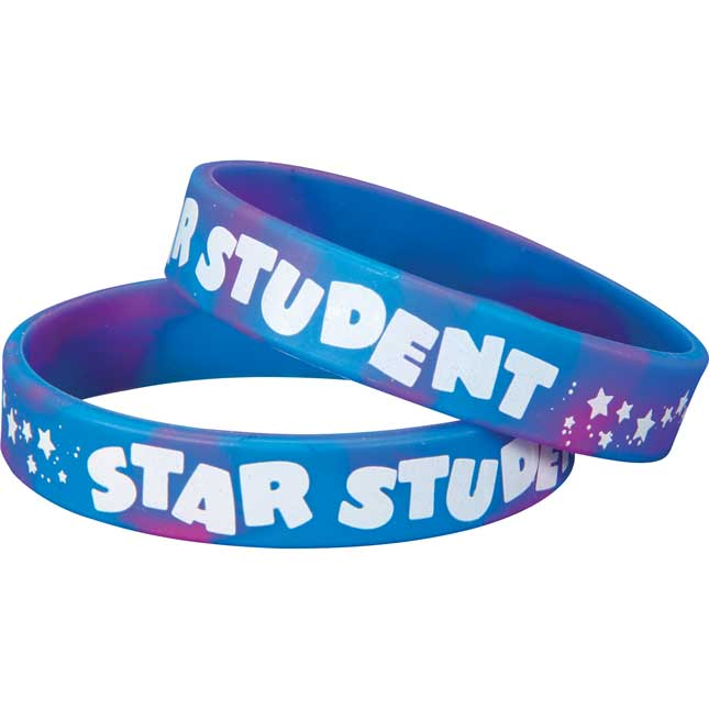 Star Student Silicone Bracelets
