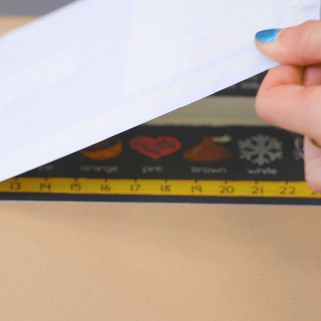 Chalkboard-Style Self-Adhesive Deluxe Plastic Desktop Helpers™ - Primary - 24 helpers_2