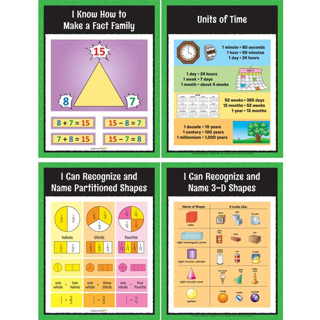 Math Center Work Office Cards - Grade 1