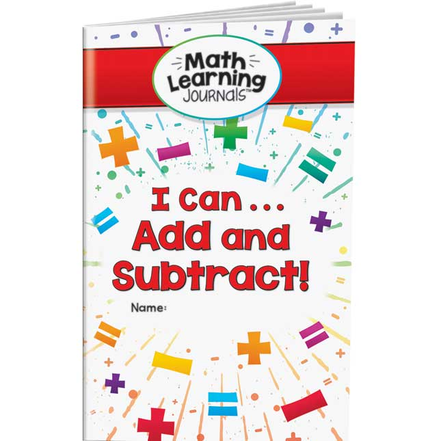 Math Learning Journals™ - I Can Add And Subtract! - 24 journals_0