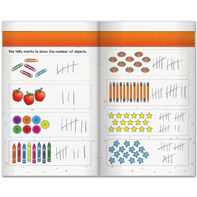Math Learning Journals™ - I Can Use Tally Marks! - 24 journals