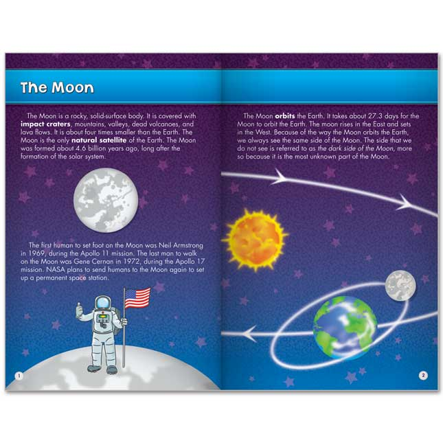 Science Learning Journals™ - The Moon And Its Phases