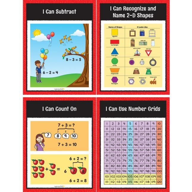 Math Center Work Office Cards - Grade K - 30 cards