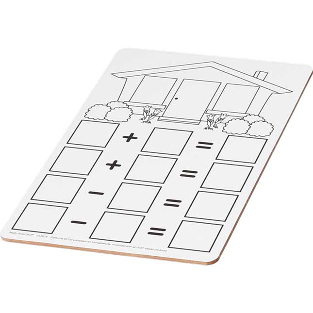Fact Family Dry Erase Boards - Addition And Subtraction