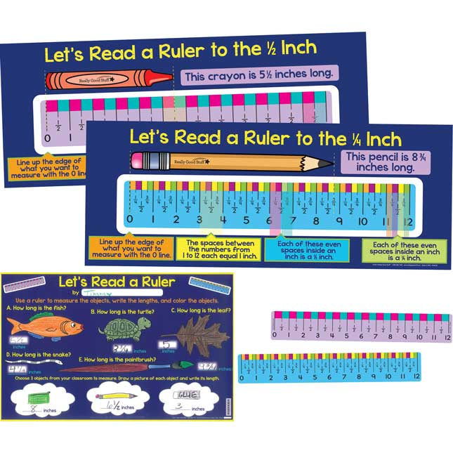 Let's Read A Ruler Deluxe Kit