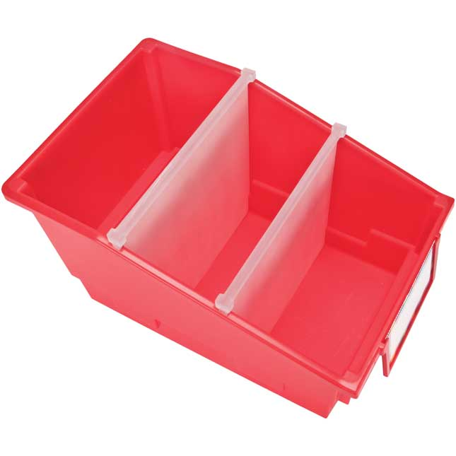 Chapter Book Bins - Rainbow - Set of 12