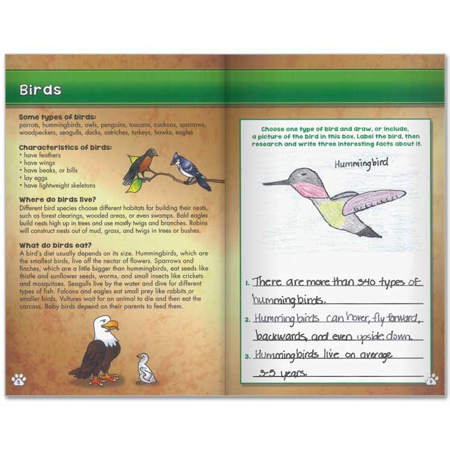 Science Learning Journals™ - Animal Classification