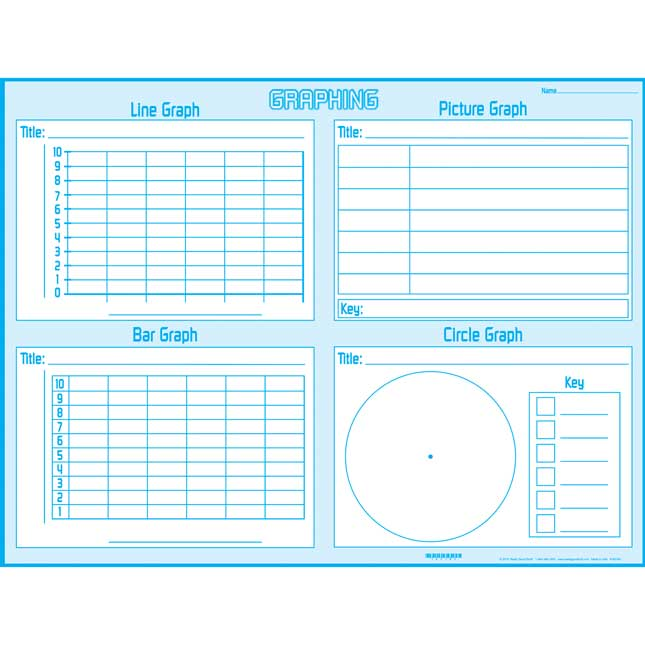 Graphing Mats - Primary - 24 mats