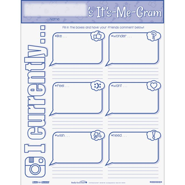 Ready-To-Decorate® It's Me Gram Bulletin Board Kit - 1 bulletin board set