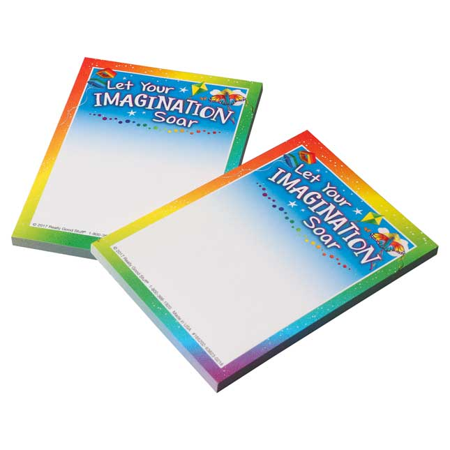Let Your Imagination Soar Sticky Note Pads - 100 sticky notes