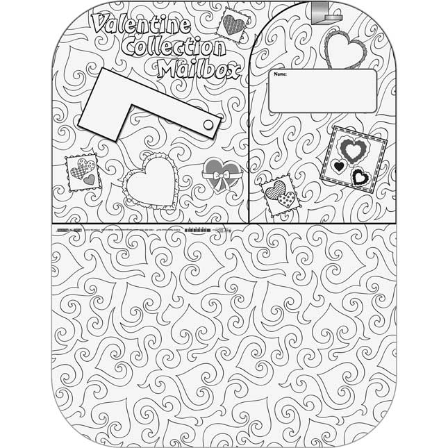 Ready-To-Decorate® Valentine Collection Mailbox Envelopes