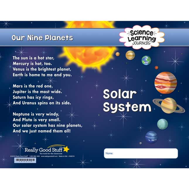 Science Learning Journals™ - Solar System