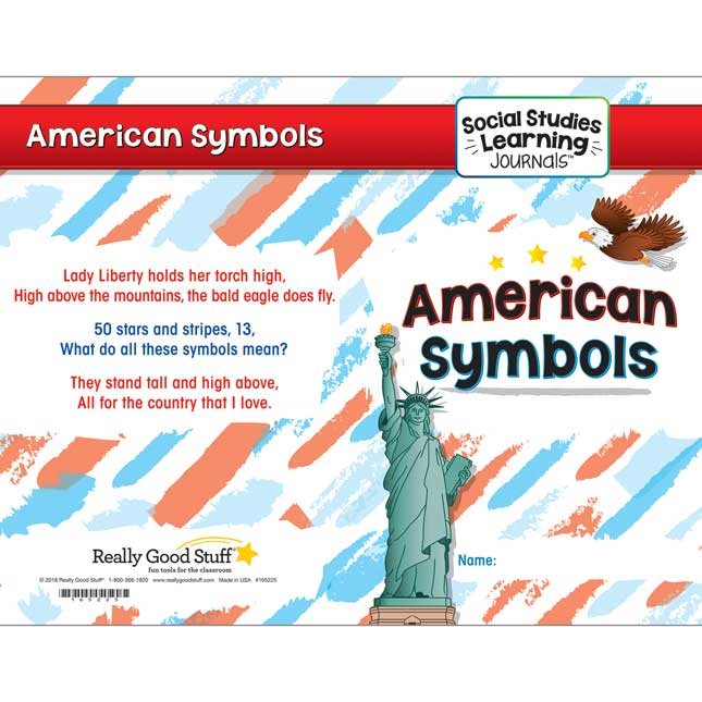 Social Studies Learning Journals™ - American Symbols - 24 journals