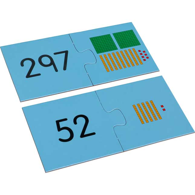 Find-A-Pair Puzzles™ - Place Value Into Hundreds