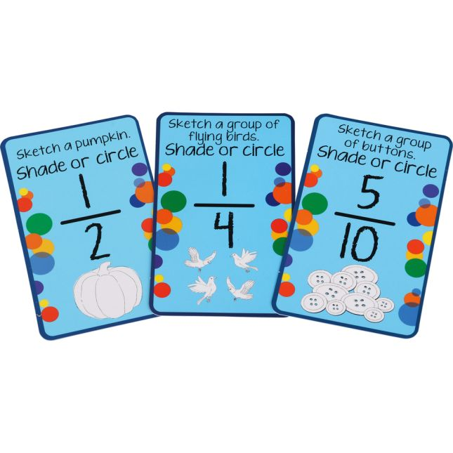Sketch-A-Fraction Cards