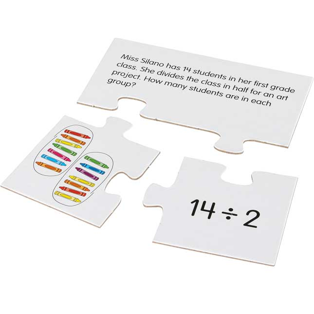 Match-It-Up Puzzles™ - Division - 15 puzzles
