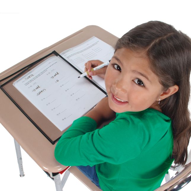 Re-Markable™ Dry Erase Sleeves - Two-Side Opening - Classroom Pack