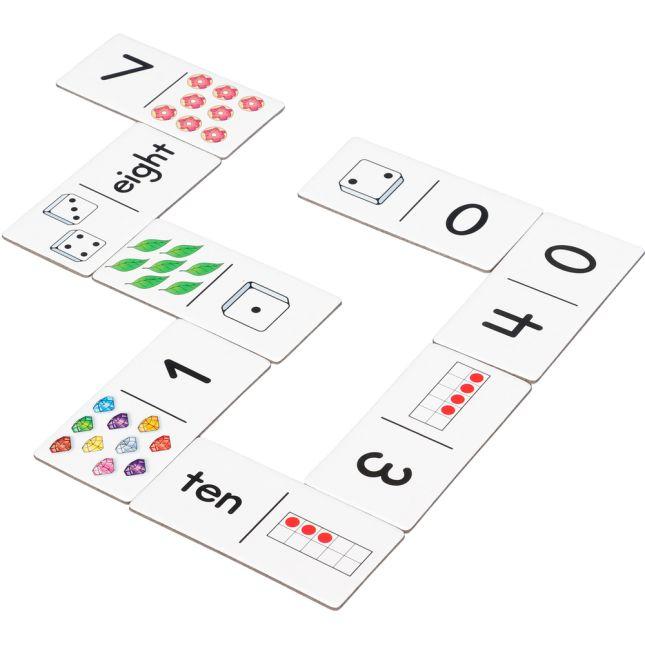 Subitizing Dominoes - 54 dominoes