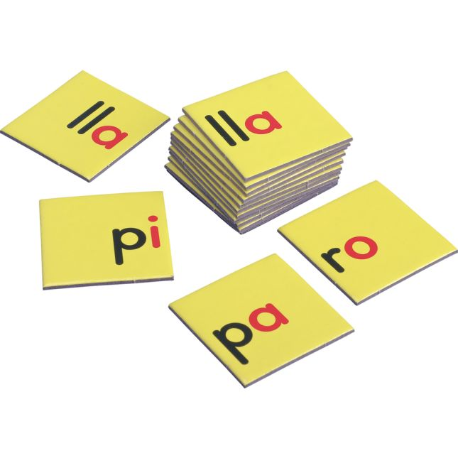 Construcción de palabras Tapetes y tarjetas (Spanish Word Building Mats And Cards)