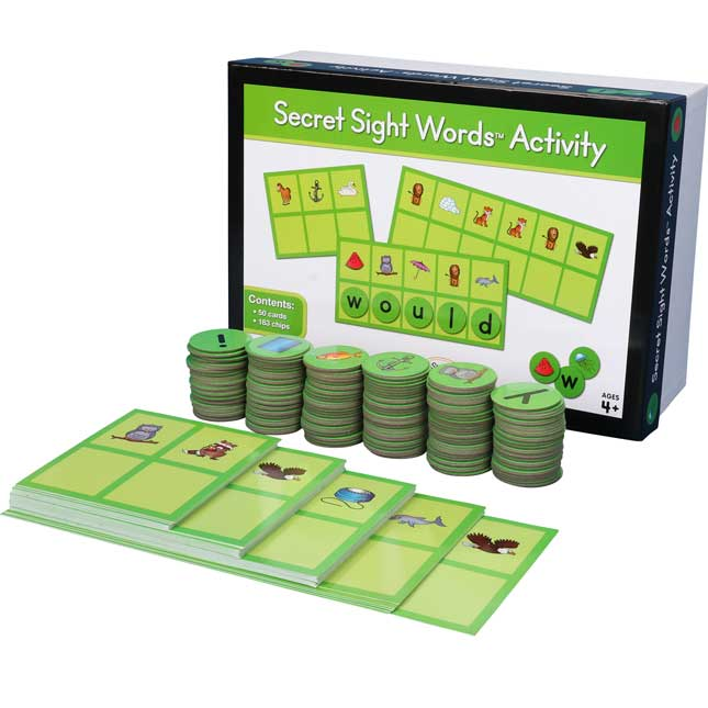 Secret Sight Words™ Activity