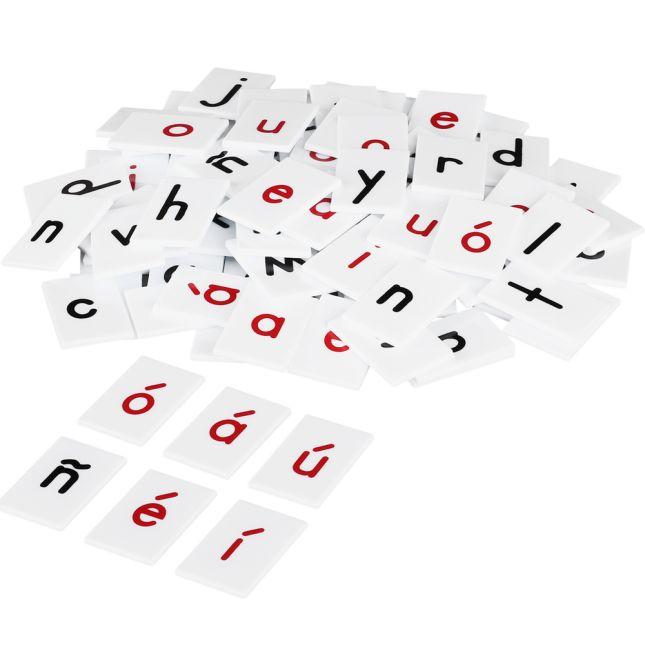 EZread™ Spanish Letter Tile Kit - 264 tiles, 1 case