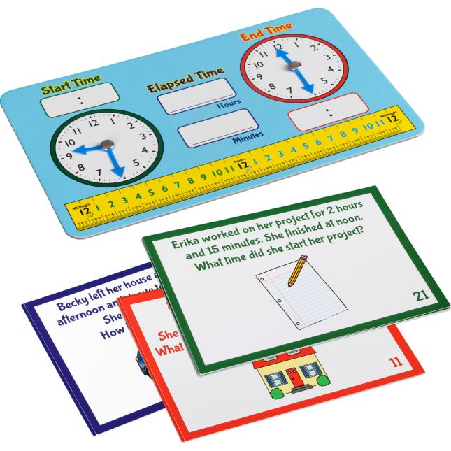 Elapsed Time Practice Kit