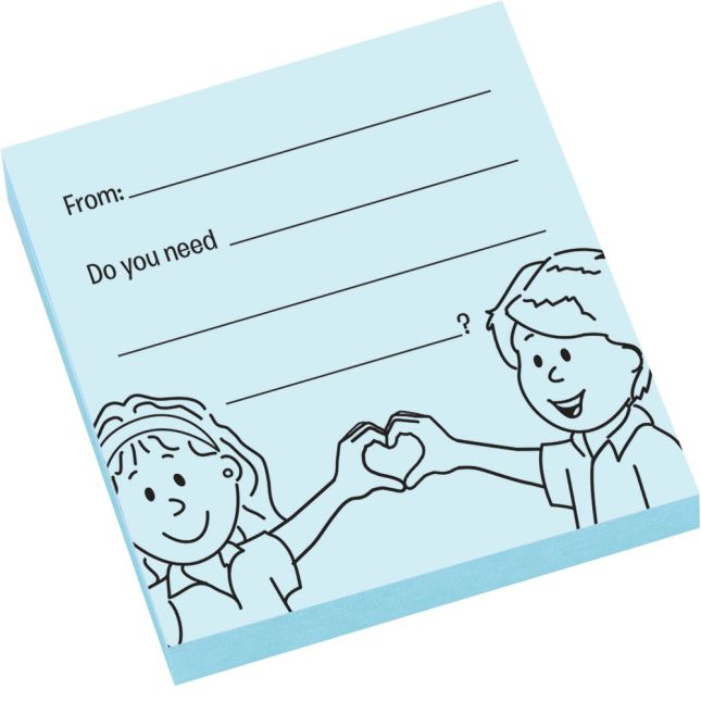 Give What You Can, Take What You Need Sticky Note Pads
