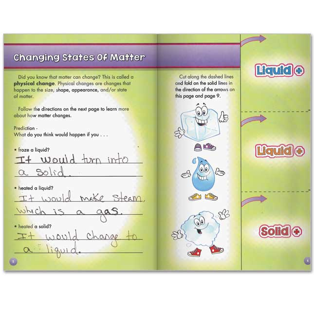 Science Learning Journals™ - What's The Matter?