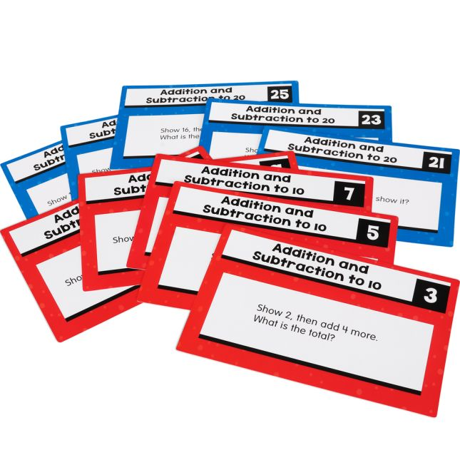 Rekenrek Task Cards - Addition And Subtraction To 20