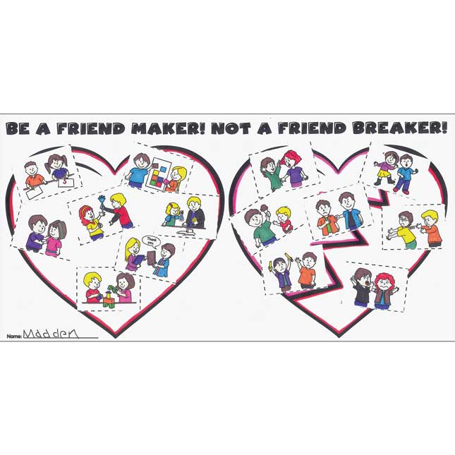 Ready-To-Decorate® Be A Friend Maker! Not A Friend Breaker! Posters