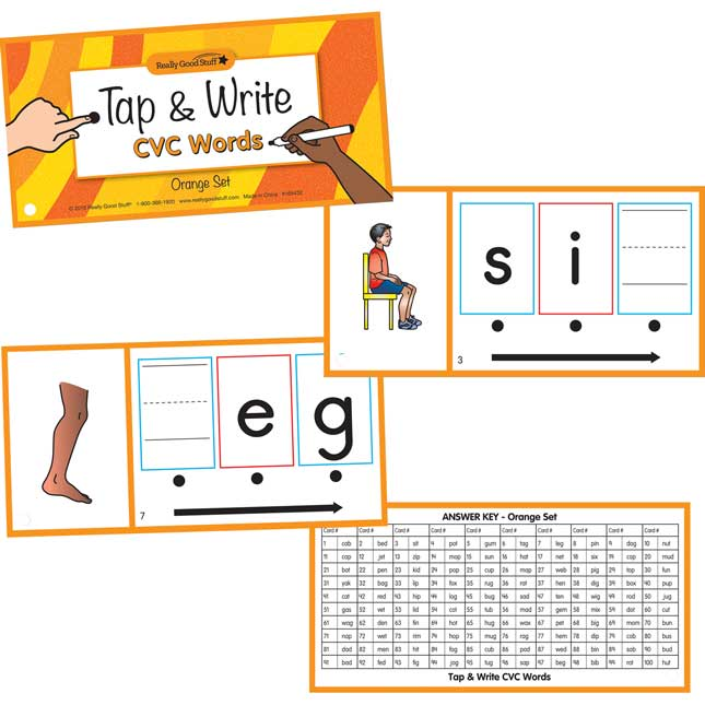 Tap And Write CVC Words