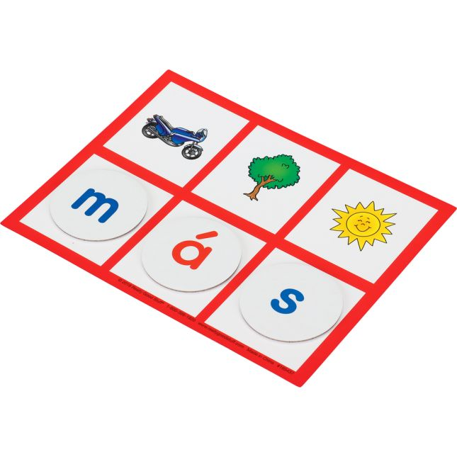 Palabras Secretas: Palabras de uso frecuente (Spanish Secret High-Frequency Words Cards) - 1 game
