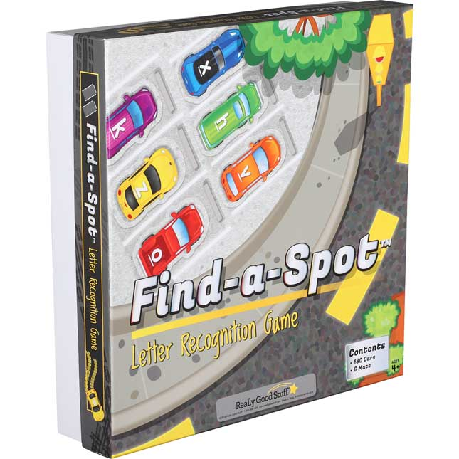 Find-A-Spot™ Letter Recognition Game