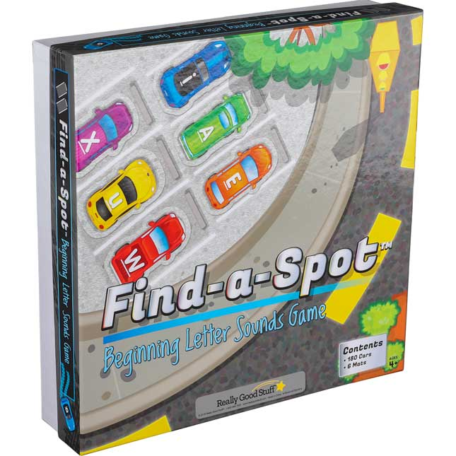 Find-A-Spot™ Beginning Letter Sounds Game - 1 game_0