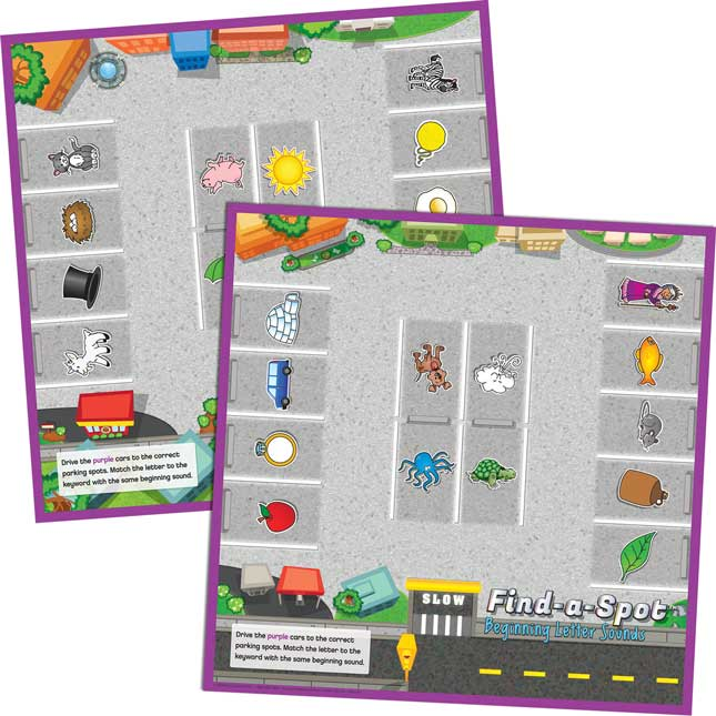 Find-A-Spot™ Beginning Letter Sounds Game - 1 game_4