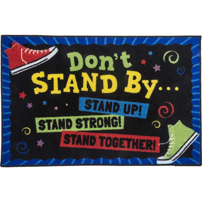 Don't Stand By, Stand Up! Rug - 1 rug