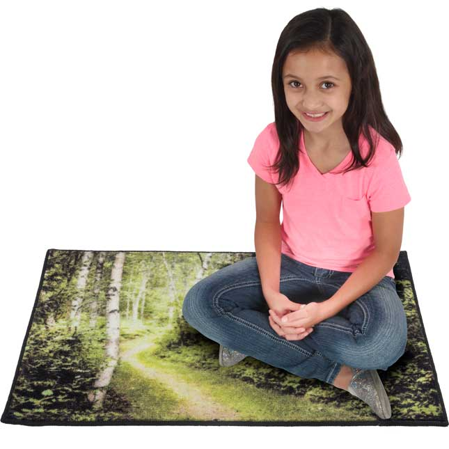 My Happy Place Rug™ - The Woods