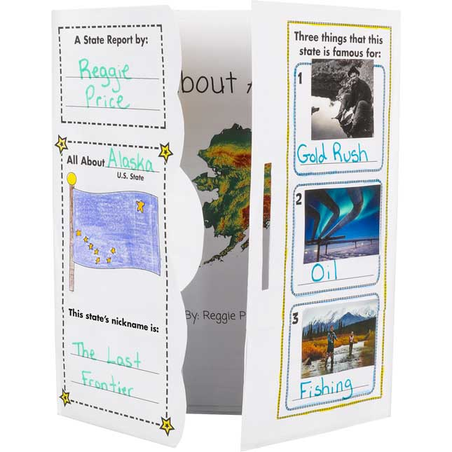 Ready-To-Decorate® Lapbooks - State Profile - 24 lapbooks