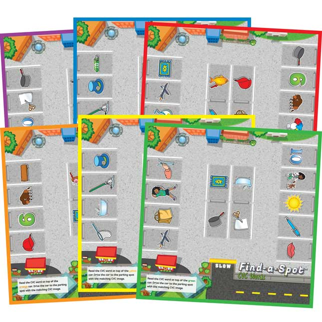 Find-A-Spot™ CVC Words Game