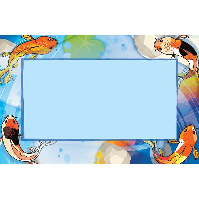 Character Koi Durable Book And Binder Holders