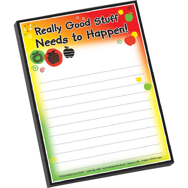 Really Good Stuff Needs To Happen Notepad - 1 notepad
