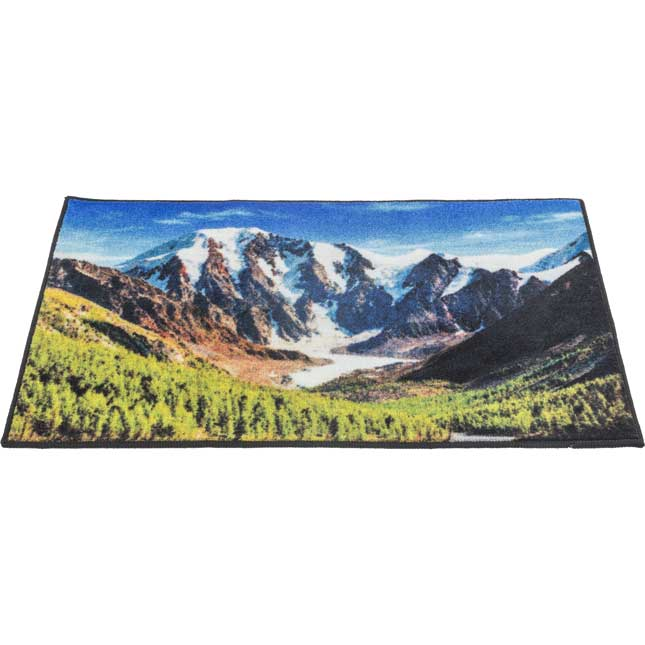My Happy Place Rug™ - The Mountains