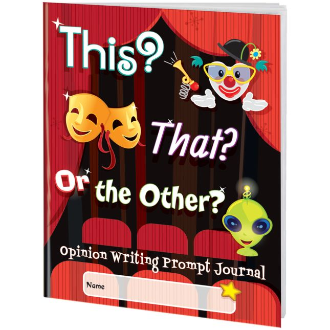 This, That, Or The Other Opinion Writing Journals - 12 journals