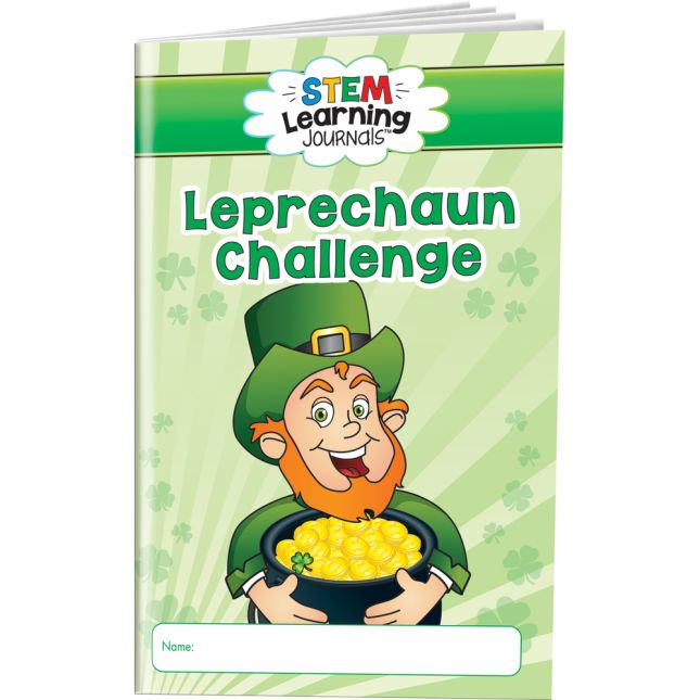 STEM Learning Journals™ - Leprechaun S.T.E.M. Challenge - 24 journals