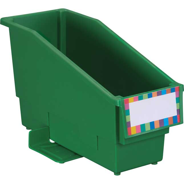 Multi-Directional 4-Bin Wire Rack With Single-Color Bins - 1 rack, 4 bins